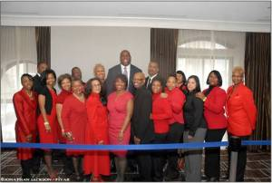"The Ajamu Group with Earvin ""Magic"" Johnson"